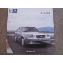 Catalogo De Venta Hyundai Accent