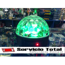 Bola Disco Luces Con Mp3 Sd Y Usb