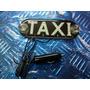 Placa Led Taxi Azul 12v