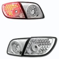 Focos Cromados Con Led Mazda 3