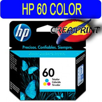 Cartucho Hp 60 Color Mod Cc643 Wl Original Sellados