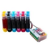 Sistema Continuo Para Epson T50 Con Tintas