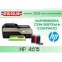 Impresora Hp 4615 Con Sistema Continuo De Tinta