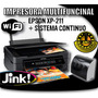 Impresora Multifuncional Epson Xp 211 Con Sistema Continuo