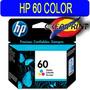 Cartucho Hp 60 Color Mod Cc643 Wl Original Sellados