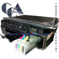 Impresora Brother Mfc-j200 Con Sistema Continuo Jumbo, Wi-fi