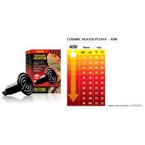 Calentador Cerámico 40w Para Reptiles