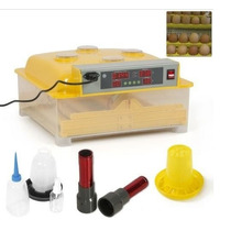 Incubadora Automática 48 Huevos + Comedero Bebedero Y Ovoscp