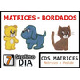 Cd Matrices Brother Disney 41 Tarjetas 850 Matrices