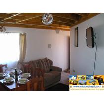 Arriendo Casa Cabaña En El Tabo A 200 Metros De La Playa