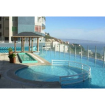 Espectacular Vista Mar,terraza, Estacionamiento , 2 - 3 Per