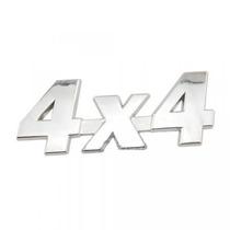 Logo 4x4 Cromado Emblema Maleta Puerta Auto Moto
