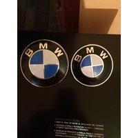 Emblema Metalico Bmw Capó Y Maletero 84 Y 72 Mm