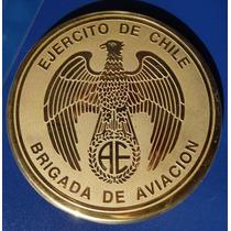 Placa Brigada De Aviación Del Ejército De Chile