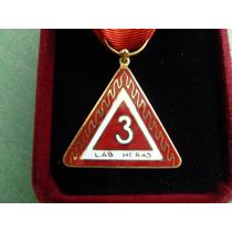 Medalla Bomberos Con Estuche