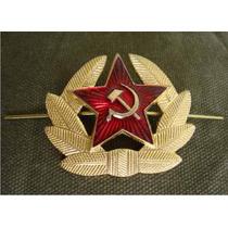 Cucarda Para El Gorro De Soldado Ó Marinero Sovietico