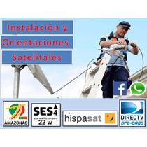 Instalación Y Orientacion Antenas Satelitales