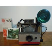 Fotografica Polaroid 104 Con Todo Su Equipo, Buena
