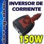 Inversor Corriente Auto 150w Para Notebook 12v Dc A 220v Ac