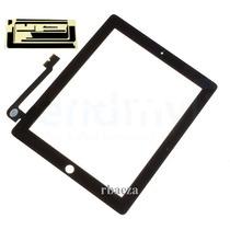 Pantalla Tactil Touch Screen New Ipad 3 Ipad 4 Retina Negro.