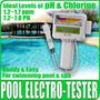 Medidor De Ph Y Cloro Para Piscina Tester Calidad Agua Spa