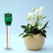 Medidor De Suelo 3 En 1 Ph Humedad Luz Para Plantas