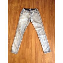 Jeans Claros Leggins Skinny Marca Asos Talla 42