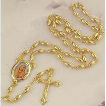 Collar Unisex Oro Laminado(enchape Oro)joya Con Envío Gratis