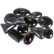 Piedras Negra Onix Naturales (grupo De 3 Piedras )