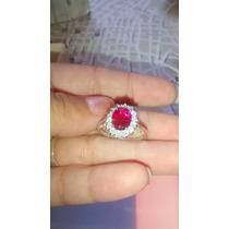 Anillo De Plata 925 Con Cristales