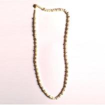 Hermoso Collar Perlas De Rio Tinteadas