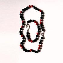Hermoso Conjunto Collar Y Pulsera De Perlas De Mallorca