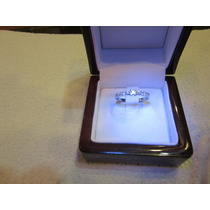 Anillo Oro Blanco 18 Kilates