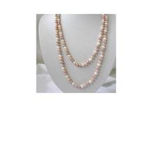 Collar Perlas Cultivadas Mares Del Sur, Multicolor, Largo.