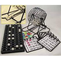 Bingo Tombola Metalica ,para Jugar En Familia