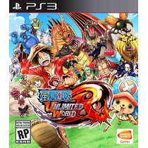 One Piece Unlimited Word Red Ps3 (entrega Inmediata)
