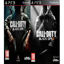 Pack 2x1: Call Of Duty Black Ops 1 Y 2 Ps3 Digital Oferta!!