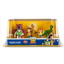 Set Figuritas Toy Story 3 Heroes 8 Piezas Disney Original