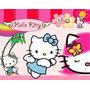 Kit Imprimible Hello Kitty Diseñá Tarjetas , Cumples Y Mas
