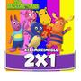 Kit Imprimible Backyardigans Cotillón Cumpleaños Infantiles