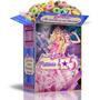 Kit Imprimible Barbie Princesa Pop Cotillón Cumpleaños