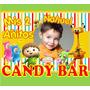 Kit Imprimible Baby Tv Candy Bar Tarjetas Con Foto Y Mucho +