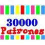 Kit Imprimible 30000 Patrones - Mas De 300 Archivos