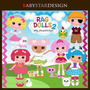 Kit Imprimible Lalaloopsy 2 Imagenes Clipart