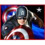 Kit Imprimible Capitan America + Otro Kit De Regalo