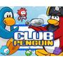 Kit Imprimible Club Penguin Diseñá Tarjetas, Cumples #2