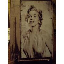 Placas Metálicas Marilyn Monroe