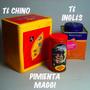 Cajas Lata Te Retro Chino.inglés Y Pimienta Maggi,b/estado.