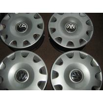 Vendo Juego De Llantas Volkswagen Aro 14 Originales