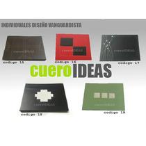 Individual Ecocuero Rigido Diseño Nuevo !!!!!